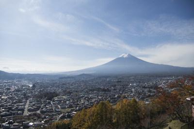 日本富士山全景