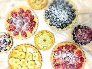 水果披萨饼的图片