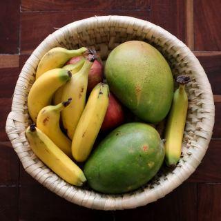 水果、芒果、香蕉