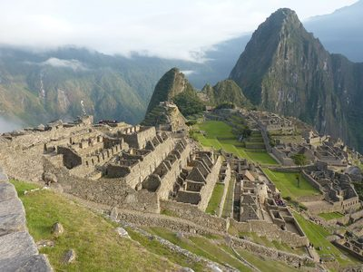 马丘比丘、废墟、被破坏的城市