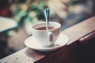 咖啡、喝、卡布奇诺