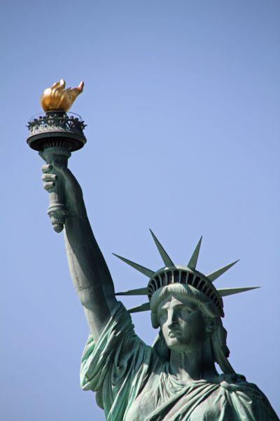 自由女神像、纽约、曼哈顿