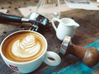 咖啡、拿铁咖啡、艺术