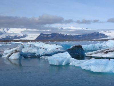 冰岛、冰川湖、瓦特