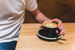 咖啡、拿铁咖啡、咖啡厅