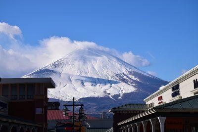 日本、富士山