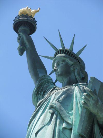 自由女神像、里程碑、纽约城