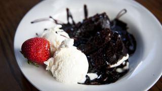 甜点、冰淇淋、甜