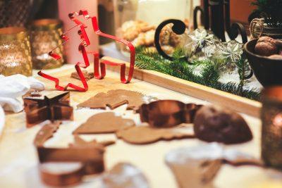 圣诞饼干制作图片