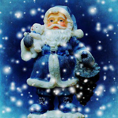圣诞节、圣诞老人、雪