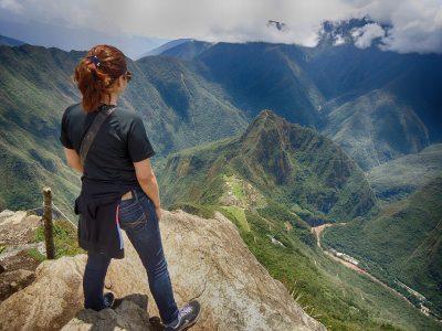 秘鲁、山、马丘比丘
