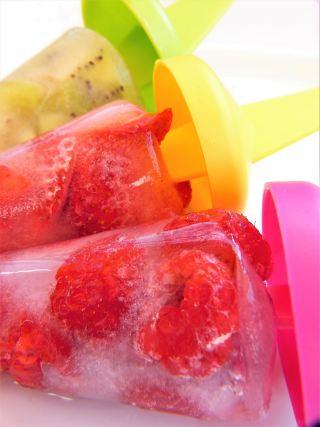 冰、水冷冻、水果