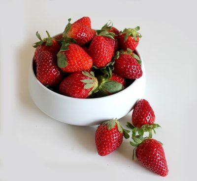 草莓、夏、水果