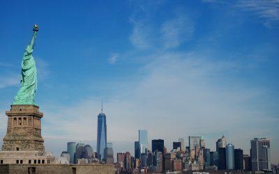 自由女神像、纽约、城市