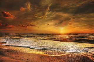 太阳、海滩、丹麦
