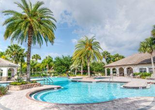 度假村的游泳池
