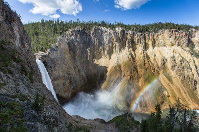 双彩虹、大瀑布、黄石瀑布