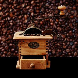 磨床、咖啡、咖啡豆