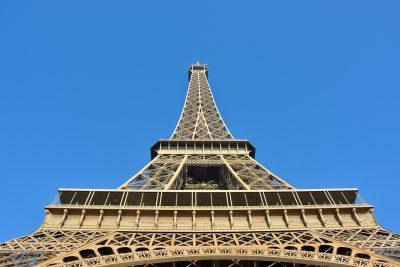 埃菲尔铁塔、巴黎、巴黎市的首都城市的巴黎