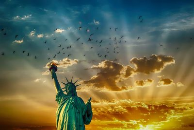 自由女神像、纪念碑、里程碑