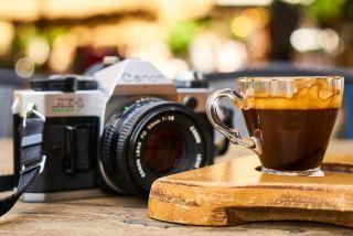 咖啡、咖啡馆、褐色
