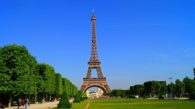 巴黎、法国、埃菲尔
