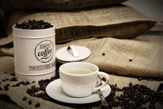 咖啡、咖啡豆、咖啡杯