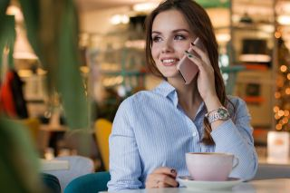 女子、人、咖啡