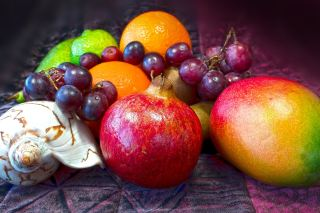 水果、维生素、健康