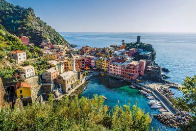 意大利、海、房屋
