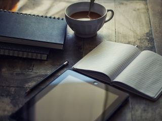 日记、Ipad、写