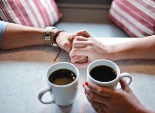 爱、咖啡、杯