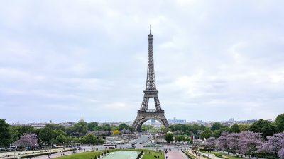 巴黎、5、月、法国