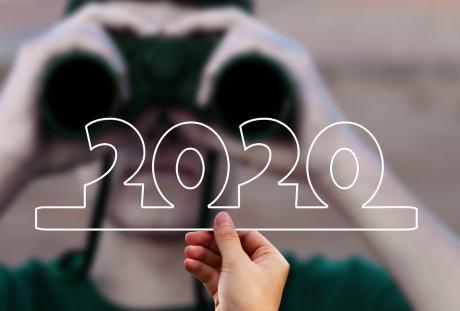 手拿2020的图片