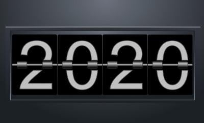 新的一年、2020、号码
