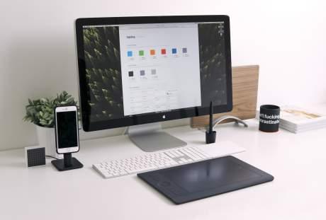 电脑办公的图片 5344×4000