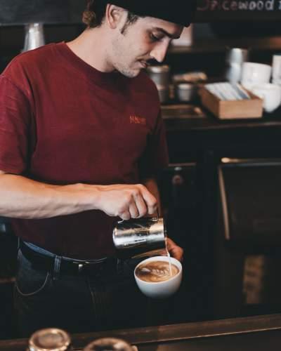 咖啡拉花工作人员