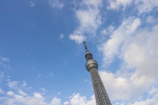 日本东京晴空塔(天空树) 6016×4000