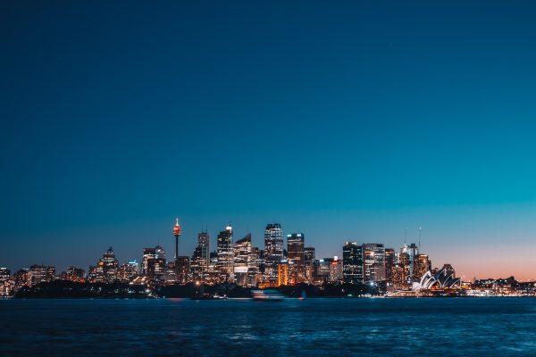 澳大利亚悉尼城市夜景