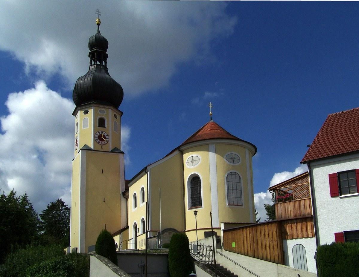巴伐利亚、德国、教堂