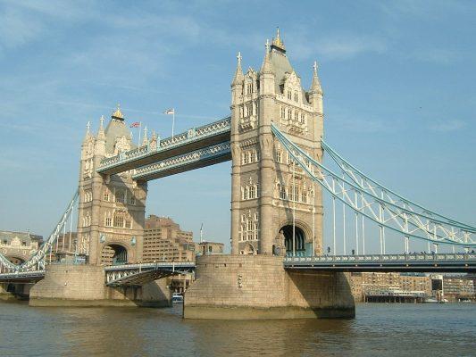 塔桥、伦敦、旅游