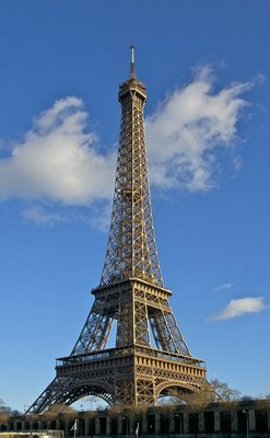 埃菲尔铁塔、天际线、纪念碑