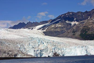 阿拉斯加州、冰川、冰川冰