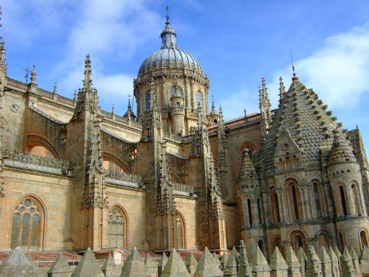 西班牙萨拉曼卡教堂建筑