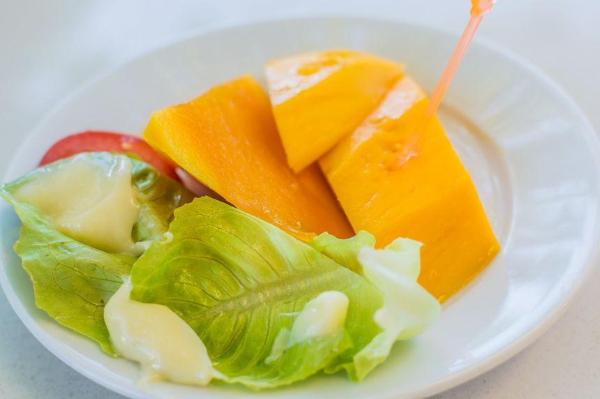 芒果、水果、背景