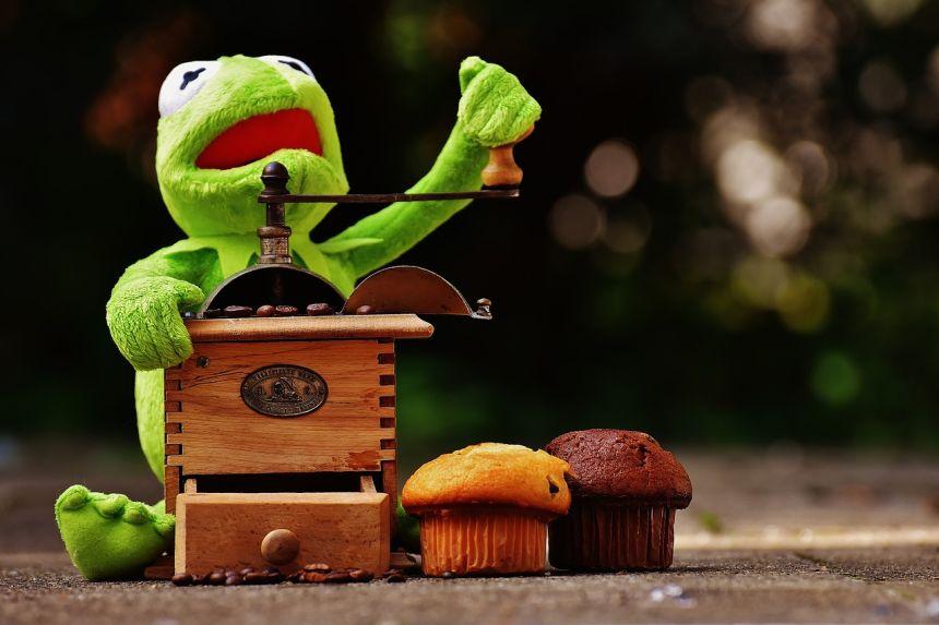 柯、青蛙、磨床