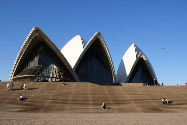 悉尼歌剧院、建设、结构
