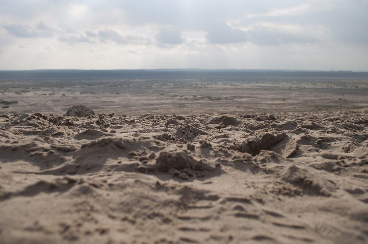 景观、沙漠、砂