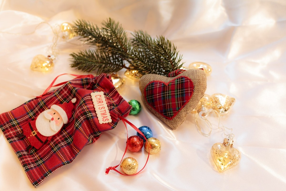 圣诞节礼物袋的图片