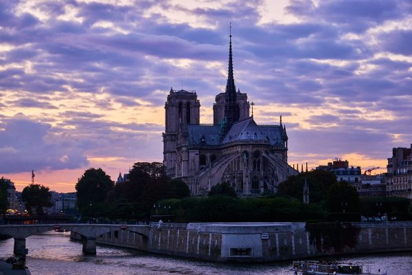 巴黎、法国、巴黎圣母院